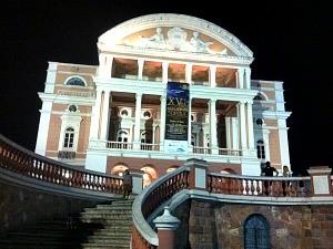 Festival de Ópera é realizado no Teatro Amazonas (Foto: Mônica Dias/G1)