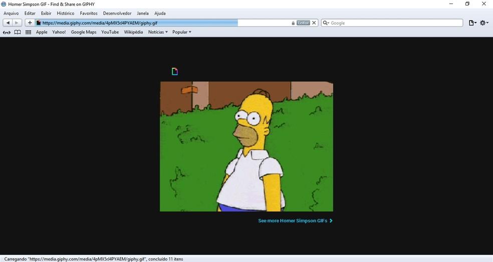 Meme do personagem Homer Simpson (Foto: Reprodução/Priscila Martz)