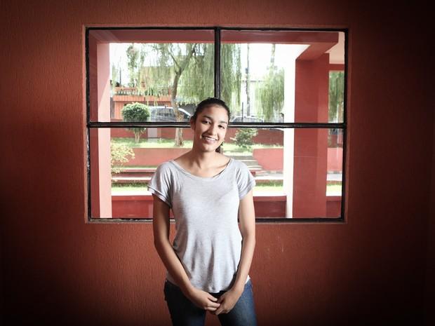 Mayra diz estar ansiosa pela mudança de estado (Foto: Caio Kenji/G1)