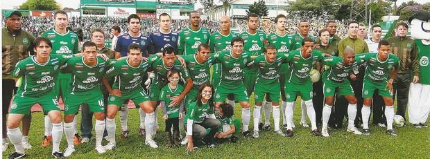 Chapecoense campeã Catarinense 2011 (Foto: Arquivo / Divulgação Chapecoense)