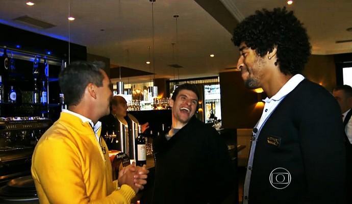 Ivan Moré, Müller e Dante (Foto: Reprodução TV Globo)