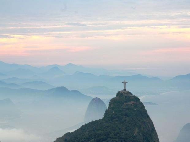Céu do Rio amanhece nublado nesta quinta-feira (7). Há possibilidade de chuva. (Foto: Marcos Estrella / TV Globo)