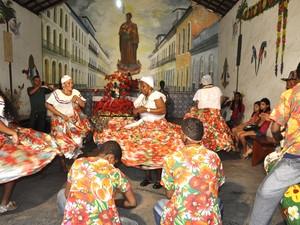 Roda de tambor de crioula ocorre às 17h deste sábado (9) (Foto: Divulgação/Lauro Vasconcelos)