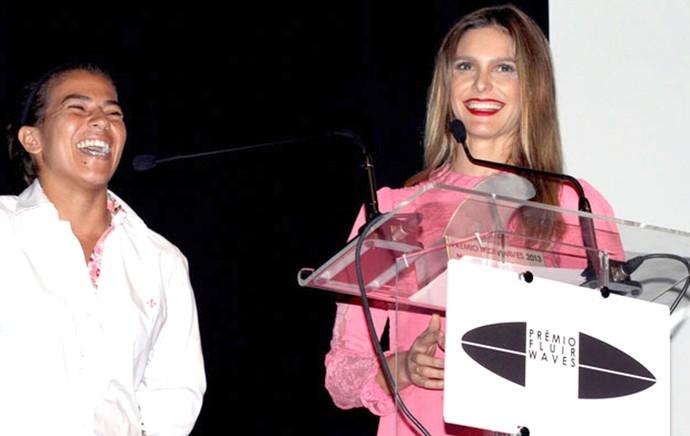 Silvana e Fernanda Lima (Foto: Fábio Minduim / Revista Fluir)