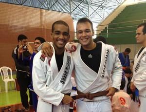 Ivaldo Alves e Carlos Cutrim - jiu-jitsu Maranhão (Foto: Divulgação/Francisco Bezerra)