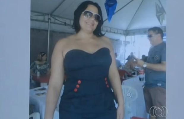 Juliana sonhava em ser mãe e, por isso, queria emagrecer antes de engravidar (Foto: Reprodução/TV Anhanguera)