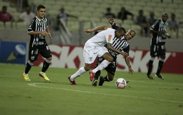 Ceará x América-MG, na Arena Castelão, pela 31ª rodada da Série B (Foto: Kid Júnior/Agência Diário)