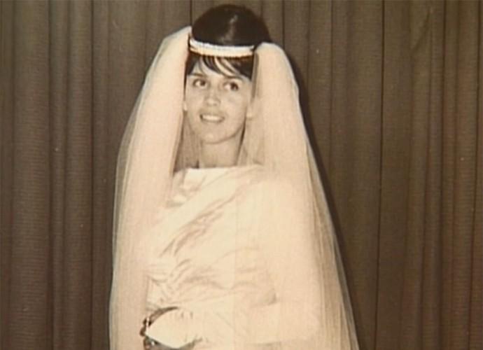 Yona Magalhães no dia do seu casamento (Foto: Vídeo Show / TV Globo)