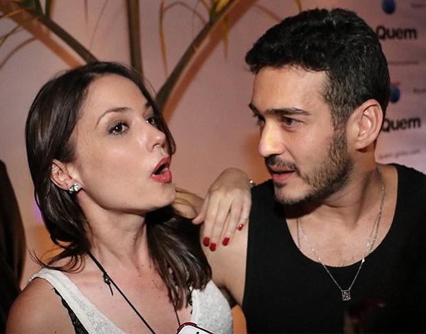 Marcos Veras e Rosanne Mulholland (Foto: Rogerio Fidalgo/ AgNews)