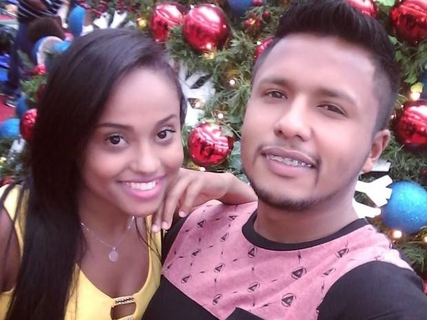 Everson foi morto após assassinar a namorada Brena em Praia Grande, SP (Foto: Arquivo Pessoal)