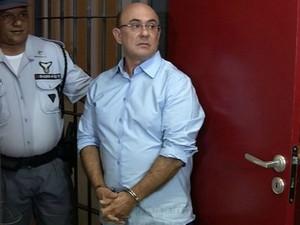 Riva está preso desde o dia 13 em Cuiabá (Foto: Reprodução/TVCA)