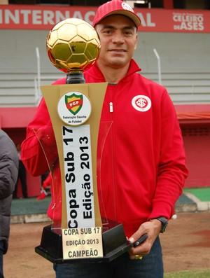 clemer inter campeão copa fgf sub-17 gre-nal grêmio (Foto: TXT Assessoria/Divulgação)
