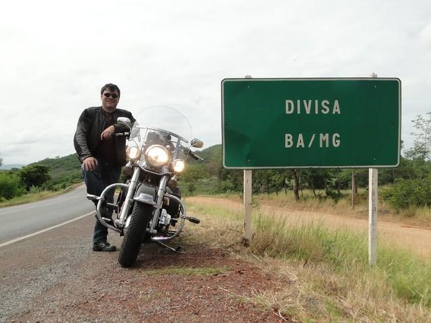 Rômulo Provetti é experiente em viagens com motos: 'O mais importante é planejar' (Foto: Arquivo Pessoal)
