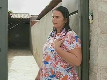 Benedita Souza Neta Coelho, esposa do vereador Manoel da Acosap, de Petrolina (Foto: Reprodução / TV Globo)