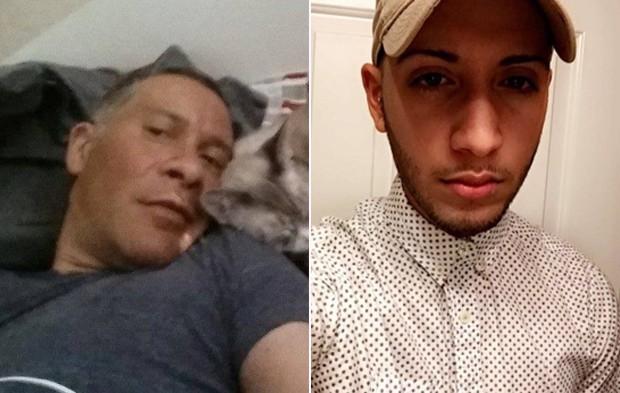 Franky Jimmy Dejesus Velazquez, de 50 anos, e Luis Omar Ocasio-Capo, de 20, estão entre os mortos (Foto: Reprodução/Facebook/Gofundme)