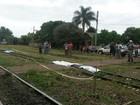 Idosa morre após ser atropelada por trem em Tupanciretã, RS
