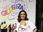 Fátima Bernardes desfila na Sapucaí: 'Escolhi a Grande Rio pela Ivete'