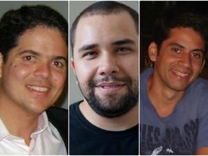 Yguaratã, Bruno e Paulo se conheceram no mestrado de Ciências da Computação, na UFPE (Foto: Paulo Silveira/Acervo Pessoal)