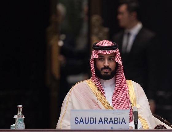 O príncipe herdeiro Mohammed bin Salman  (Foto: Chip Somodevilla/Getty Images)