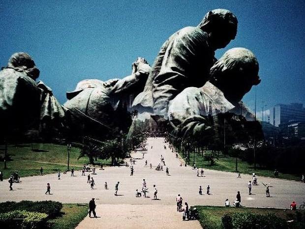 Mostra apresenta um novo olhar sobre São Paulo  (Foto: Jorge Sato/ Divulgação )