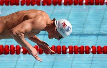 """Cielo avança em 6º nos 100m livre e critica prova às 8h40: """"É sacanagem"""""""