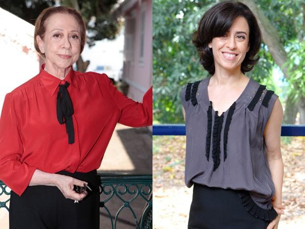 Fernanda Montenegro e Fernanda Torres (Foto: Divulgação/TV Globo)