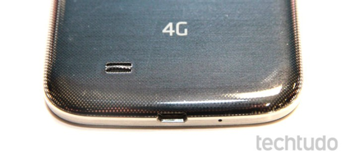 Galaxy S4 é compatível com a rede 4G brasileira (Foto: Allan Melo/TechTudo)