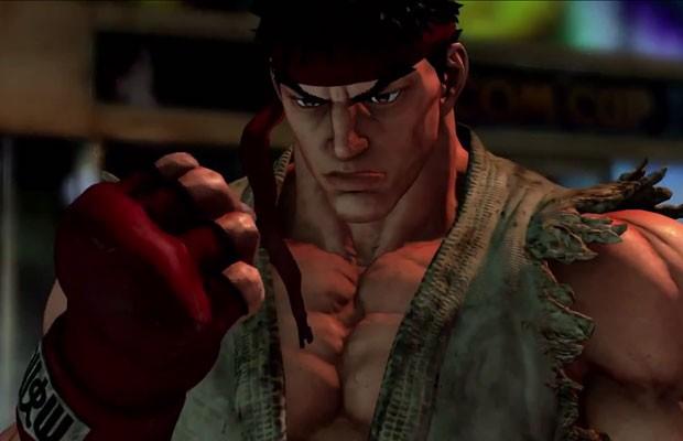 Ryu em vídeo de apresentação do novo 'Street Fighter V', publicado por engano pela Capcom. (Foto: Reprodução/YouTube.com)