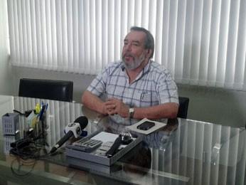Presidente do Urbana-PE, Fernando Bandeira, fala sobre o acordo (Foto: Lorena Aquino / G1)