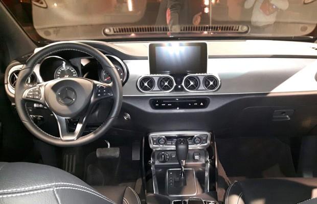 Mercedes Classe X (Foto: Alberto Cataldi /Autoesporte)