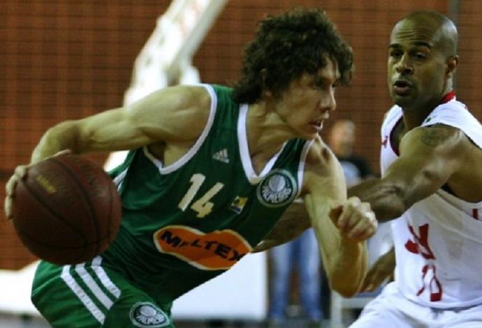 Pinheiros X Palmeiras - basquete (Foto: Fabio Menotti/Palmeiras)