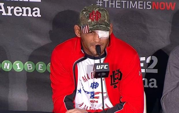 Dan Henderson coletiva UFC Suécia MMA (Foto: Reprodução)