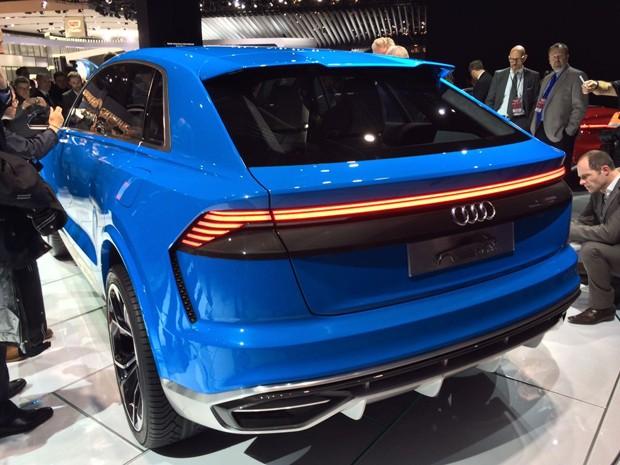 Audi Q8 Conceito (Foto: Leandro Alvares / Autoesporte)