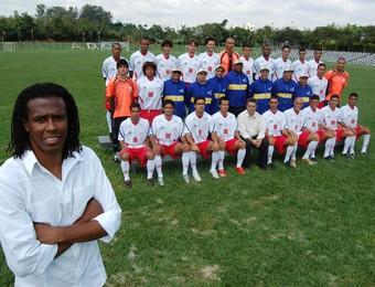 Roque Júnior Jr Primeira Camisa São José (Foto: Divulgação)