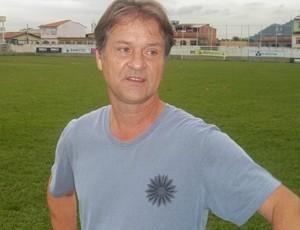 Carlos Cândido, diretor geral do Serra (Foto: Eduardo Dias/Globoesporte.com)