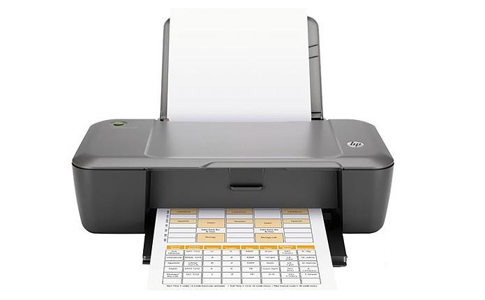 O modelo HP Deskjet 1000 é a jato de tinta e pode imprimir até 16 páginas por minuto (Foto: Divulgação/HP)