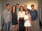 No Rio, elenco de 'Amor à vida' se reúne para lançamento da novela