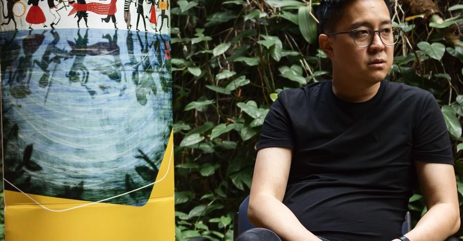 Robert Feng, diretor de arte da abertura de Game of Thrones (Foto: X-CAM/ Leonardo ALmeida)