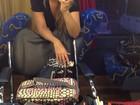 Após afastamento, Cristiana Oliveira volta a gravar 'Salve Jorge'