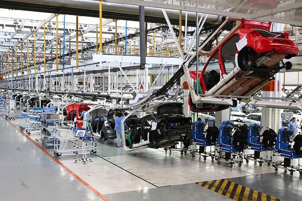 Fábrica da Volkswagen em Taubaté (SP) (Foto: Volkswagen)