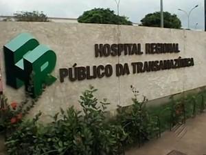 Hospital Regional da Transamazônica (Foto: Reprodução / TV Liberal)