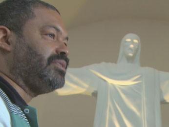 Peça foi criada pelo artista plástico Odilon Lima (Foto: Reprodução/ TV Globo)