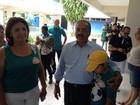 Chico (PSB) vota em Boa Vista (Marcelo Marques/G1)
