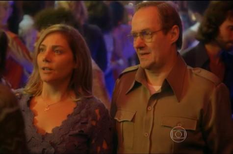 Heloísa Périssé e Daniel Dantas em 'Boogie oogie' (Foto: TV Globo)