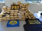 Homem é preso em Vilhena com 65kg de maconha trazidos do Paraguai