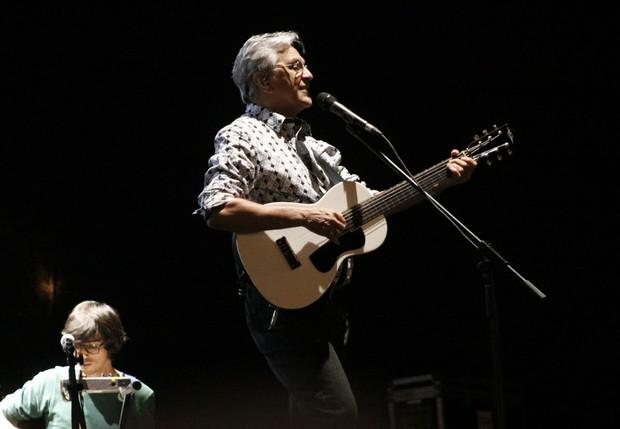 Caetano Veloso na VIrada Cultural (Foto: Celso Tavares/EGO)