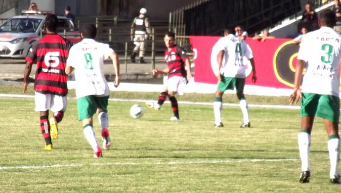 Campinense x Baraúnas (Foto: Silas Batista)