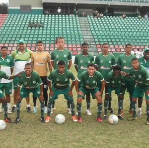 Atletas do Uberlândia Esporte promovidos da base (Foto: Yan Cláudio/Arquivo pessoal)
