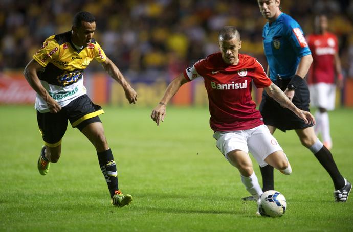 Criciúma e Inter (Foto: Alexandre Lops/Divulgação Inter)