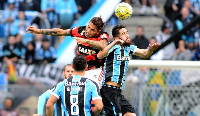 Guerrero Marcelo Oliveira - Flamengo x Grêmio (Foto: EDU ANDRADE/FATOPRESS/ESTADÃO CONTEÚDO)